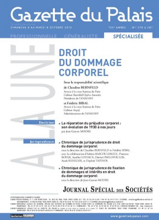 Gazette du 8 octobre 2013